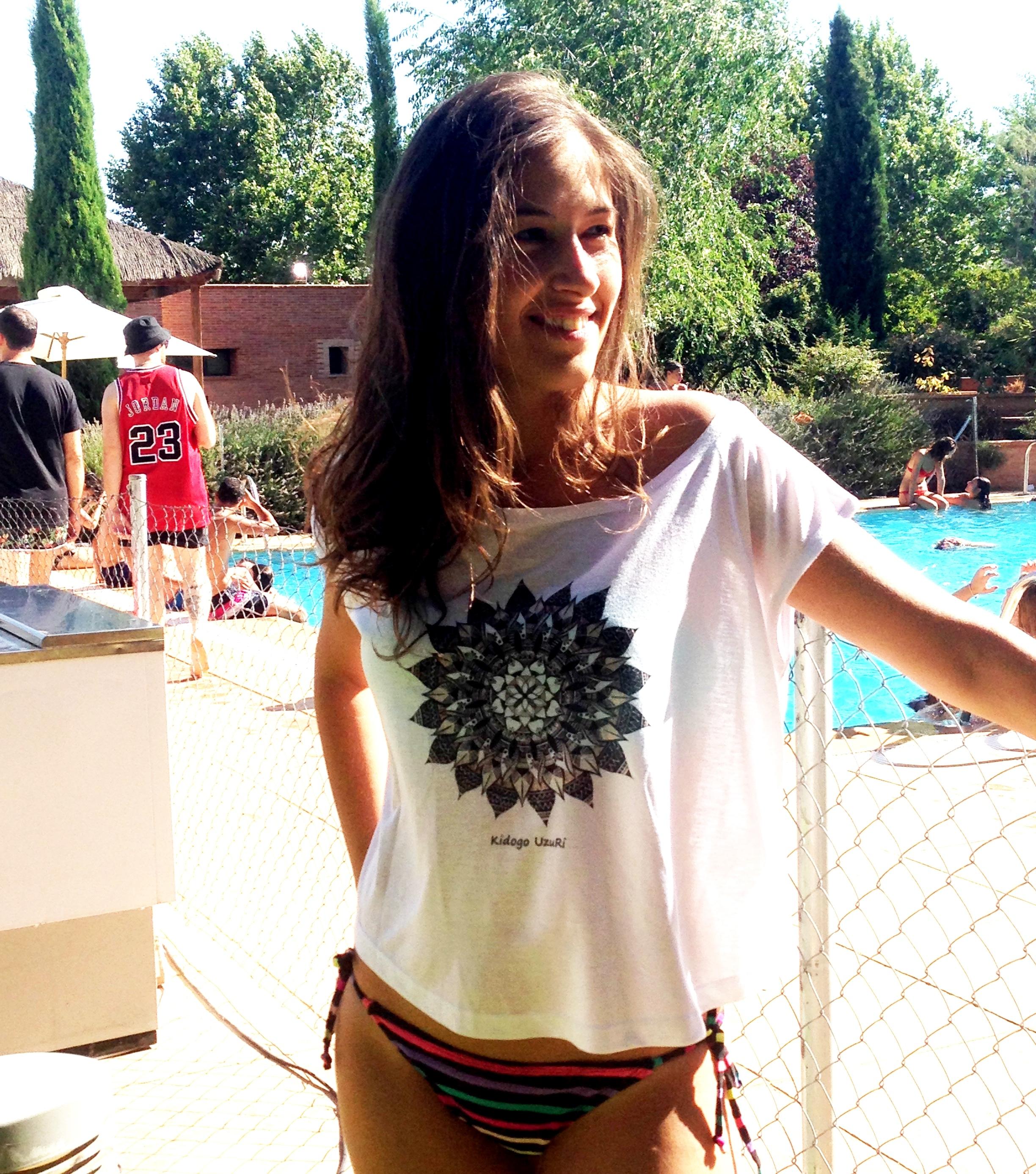 Angie Camiseta Marina